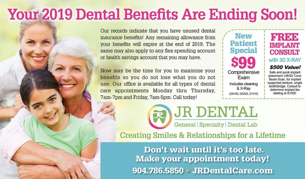 Use your dental benefits