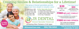 JR Dental Specials!