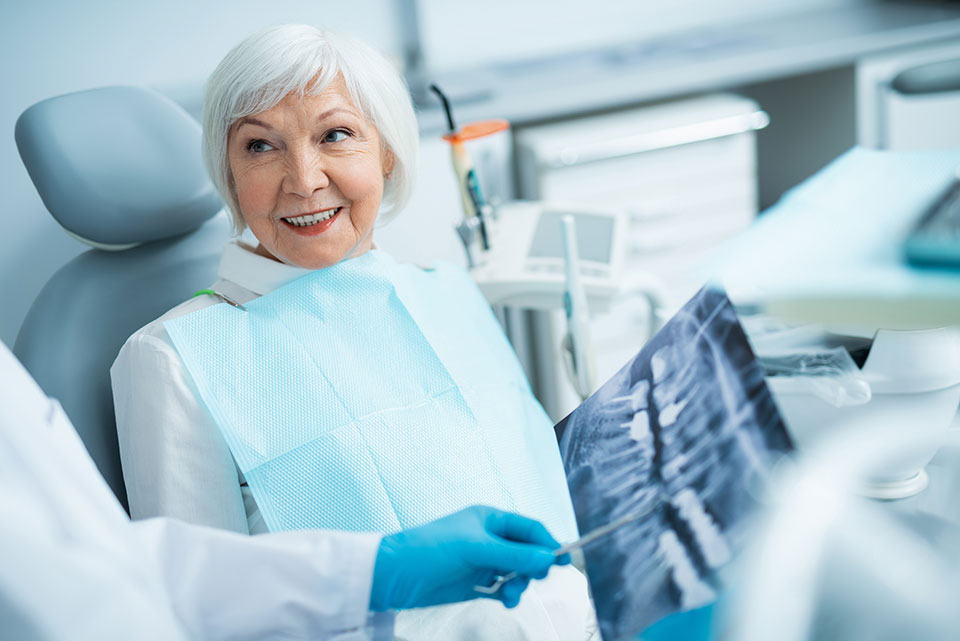 Routine dental exams and cleanings